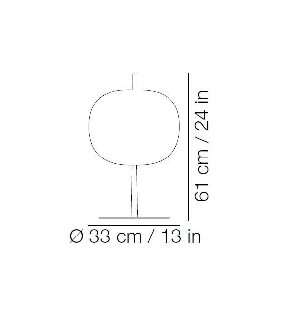 Kushi XL Kundalini Lámpara de Mesa