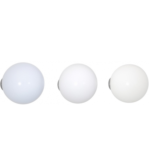 Versandfertig - Coat Dots Vitra Set von 3 Holzkugeln