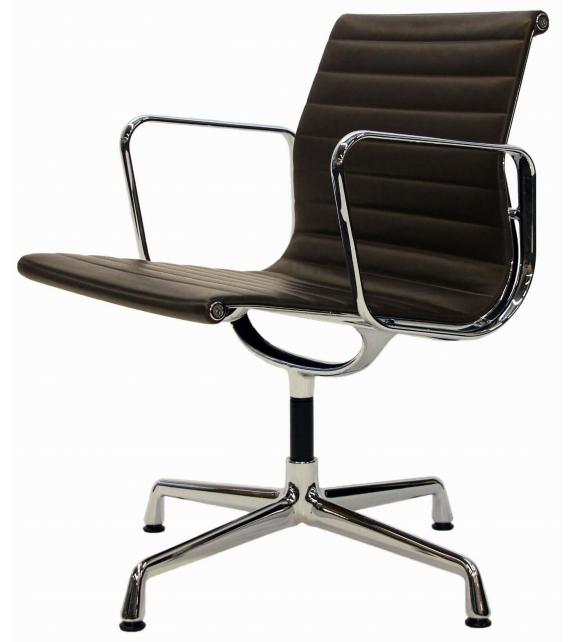 Versandfertig - Aluminium Chair EA 108 Vitra Stuhl