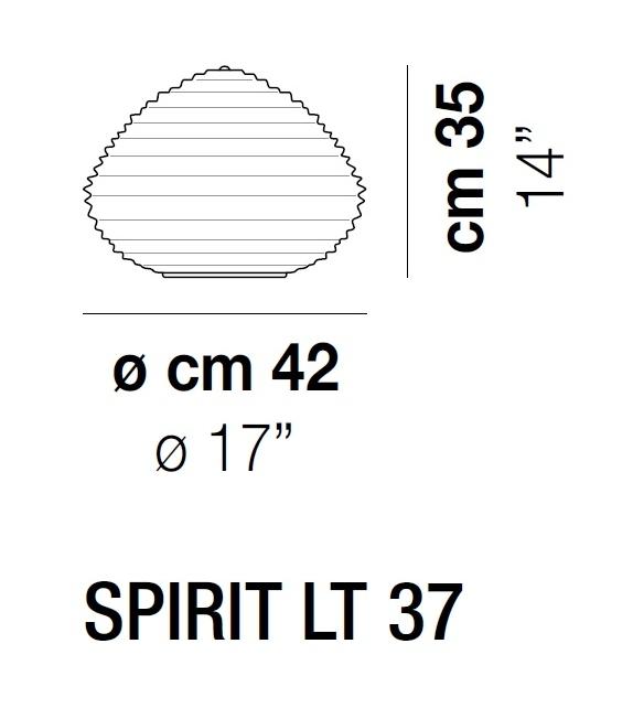 Spirit LT Vistosi Lampada da Tavolo