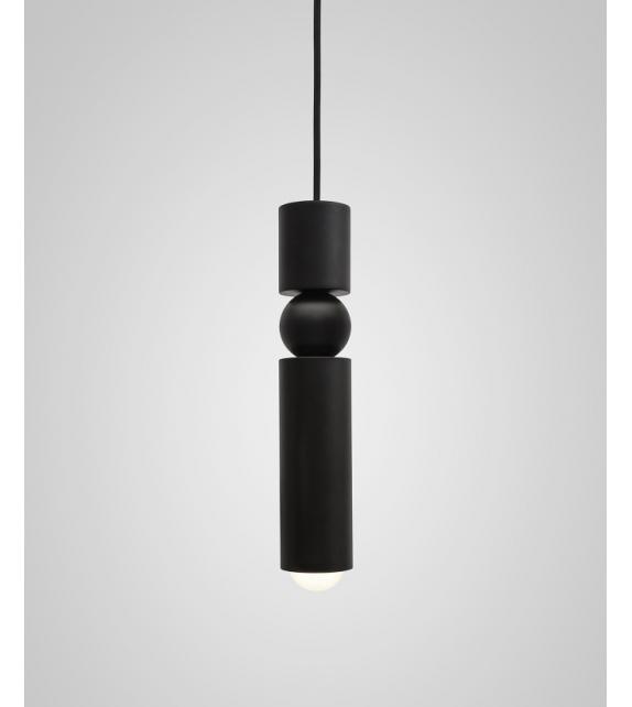 Fulcrum Light Black Lee Broom Lampada a Sospensione