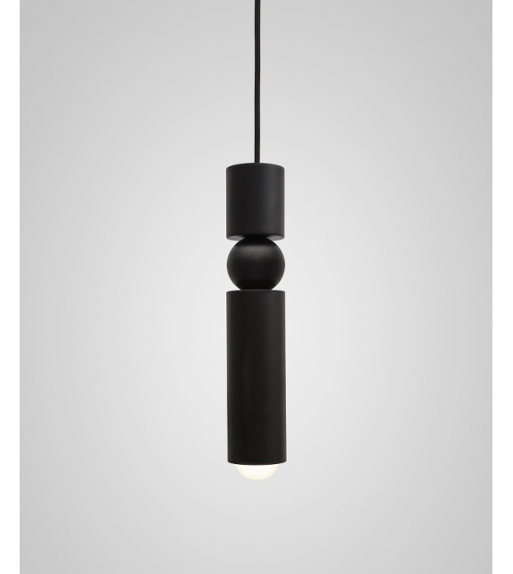 Fulcrum Light Black Lee Broom Pendant Lamp