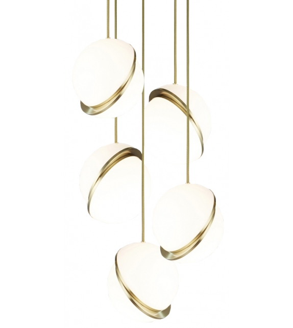 Mini Crescent Chandelier 5 Tier Lee Broom Pendant Lamp