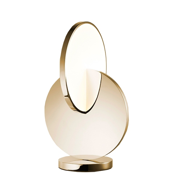 Eclipse Gold Lee Broom Lámpara de Mesa