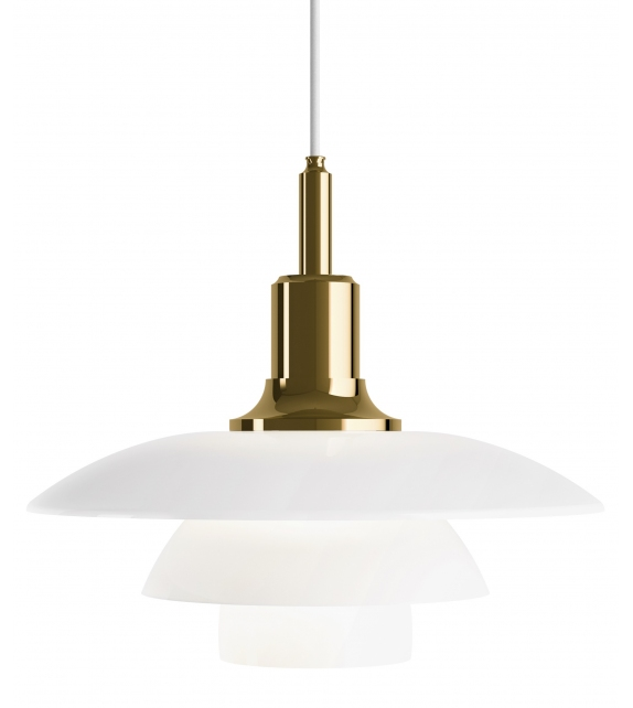 PH 3½-3 Glass Louis Poulsen Suspension Lamp
