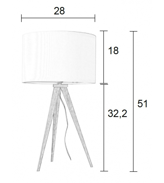 Ready for shipping - Tripod Zuiver Table Lamp
