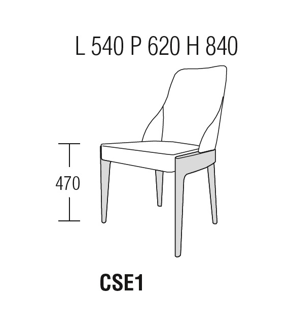 Ready for shipping - Chelsea Chair Molteni & C