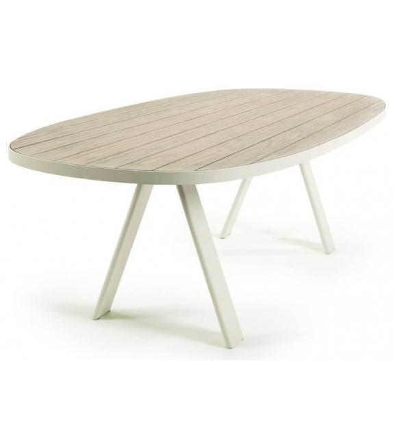 Esedra Ethimo Ovaler Tisch