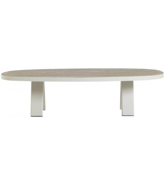 Esedra Ethimo Table Basse Ovale