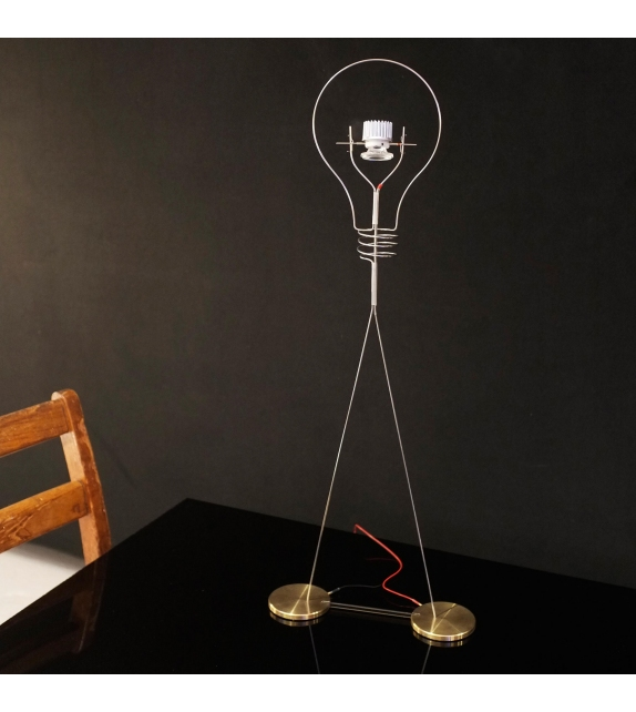 Ready for shipping - Walking Bulb Ingo Maurer Table Lamp