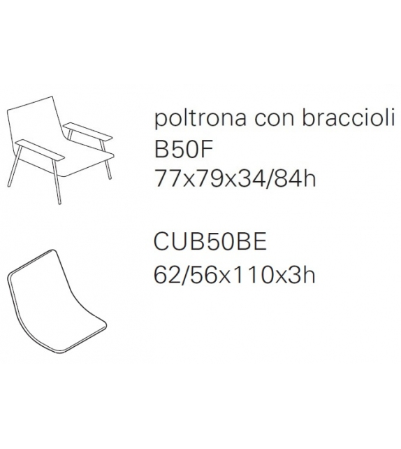 Pronta consegna - Baia Paola Lenti Poltroncina
