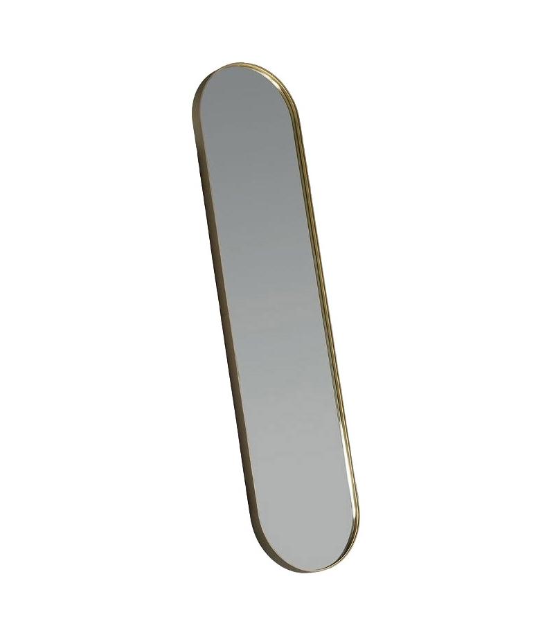 Ready for shipping - Ren Poltrona Frau Oval Mirror