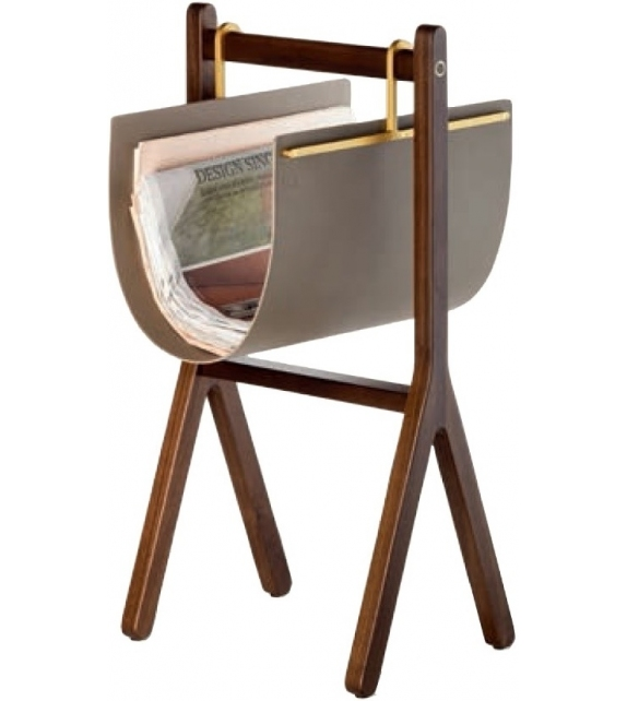 Ready for shipping - Ren Poltrona Frau Magazine Rack