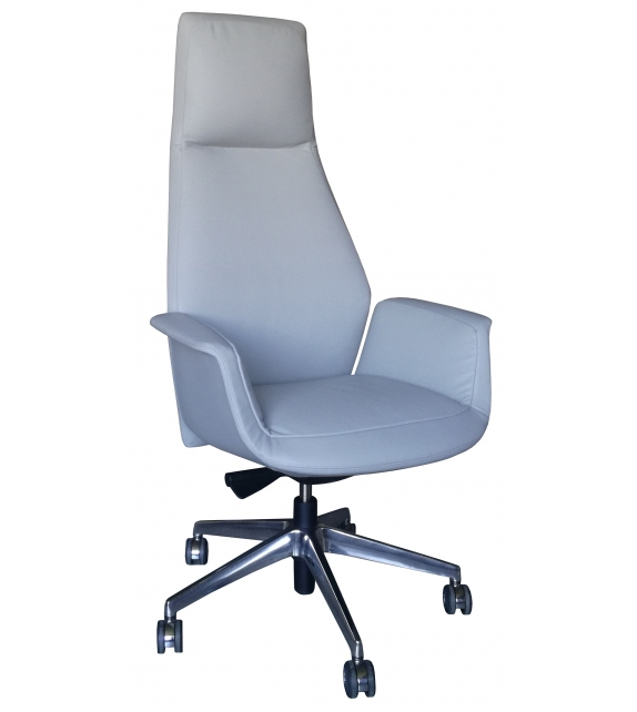 Ready for shipping - Downtown President Swivel Chair Poltrona Frau