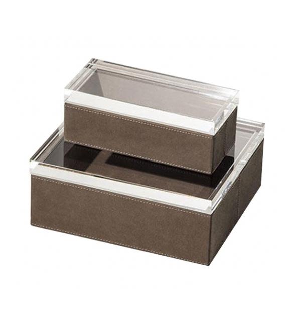 Listo para entregar - Gli Oggetti - Leather Case Poltrona Frau Caja