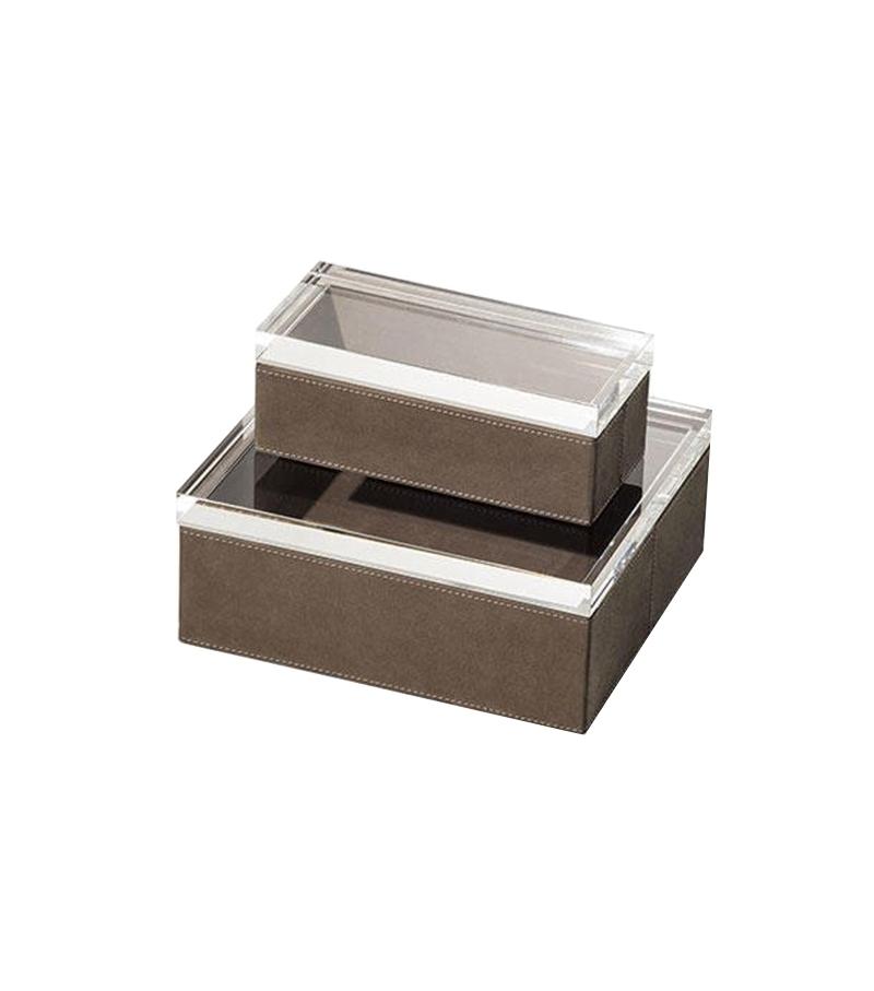Ready for shipping - Gli Oggetti - Leather Case Poltrona Frau Box