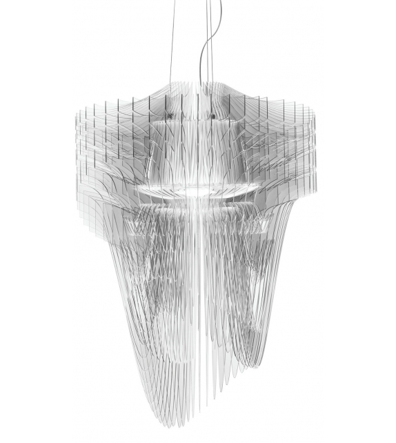 Ready for shipping - Aria Transparent Slamp Suspension Lamp