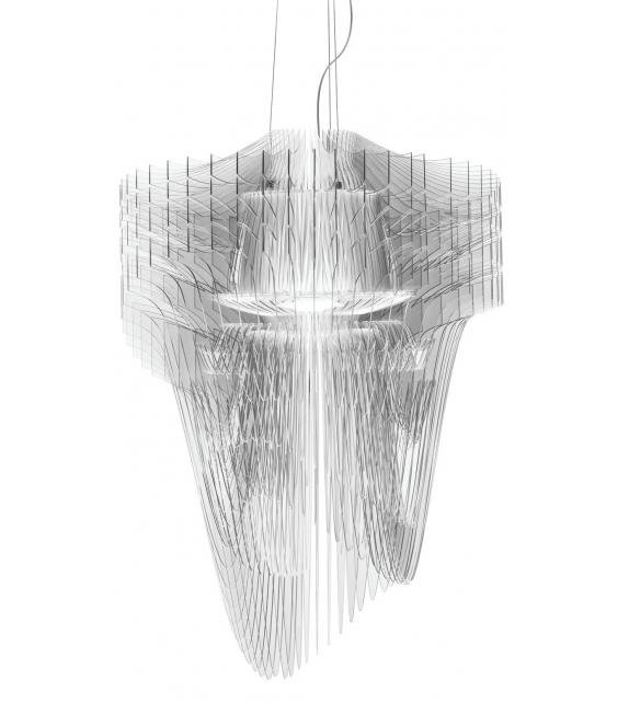Versandfertig - Aria Transparent Slamp Hängeleuchte
