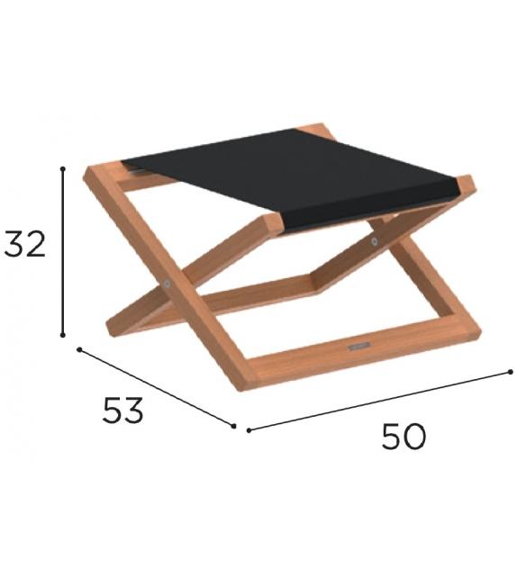 Beacher Royal Botania Foldable Footrest