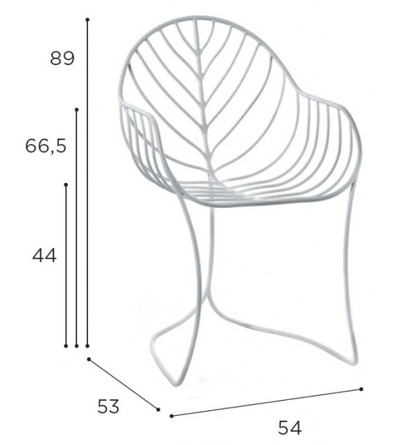 Folia Royal Botania Chair