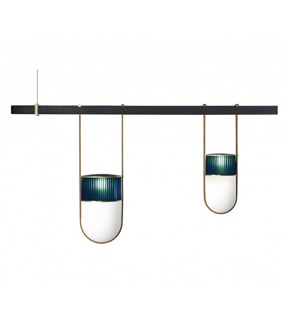 Ready for shipping - Xi Poltrona Frau Suspension Lamp
