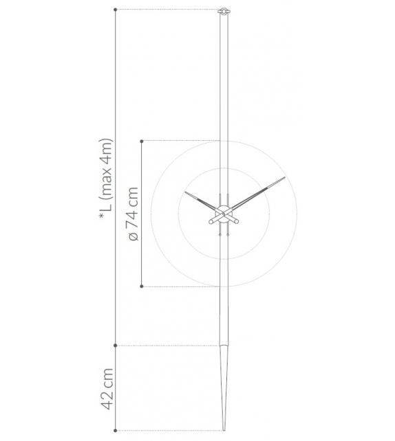 Ready for shipping - Péndulo Nomon Clock