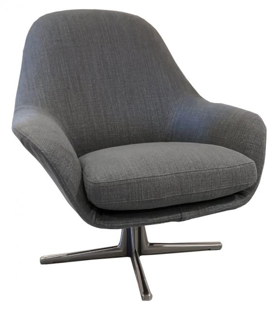 Versandfertig - Sveva Soft Flexform Drehfuß Sessel