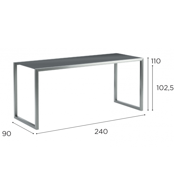 Ninix Royal Botania Bar Table