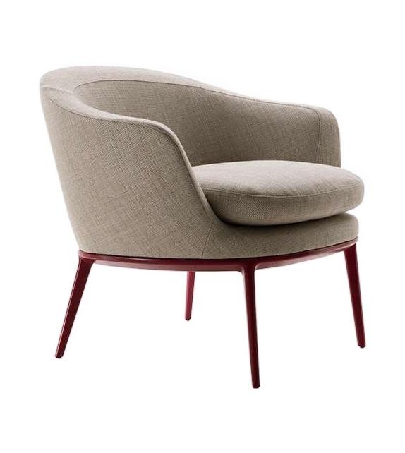 Caratos Maxalto Armchair with Low Backrest