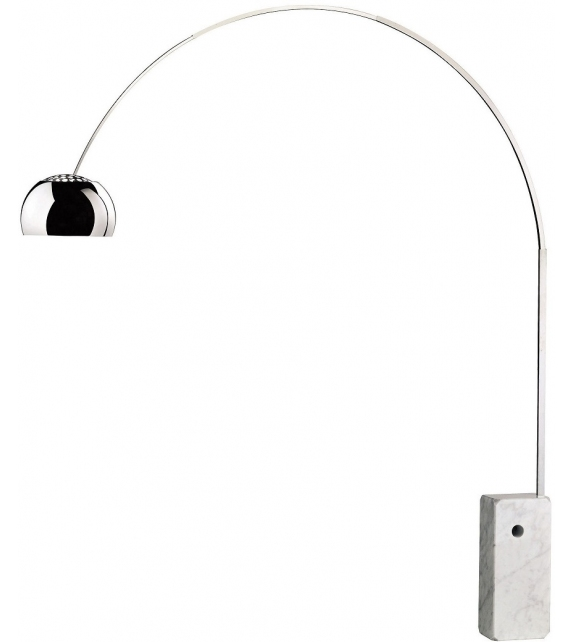 Ready for shipping - Arco Flos Floor Lamp
