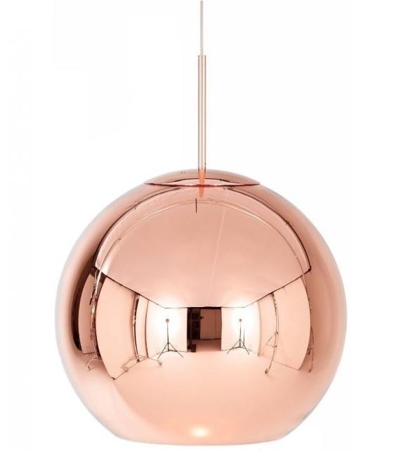 Versandfertig - Copper Tom Dixon Pendeleuchte