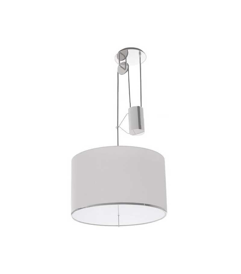 Ready for shipping - Leukon Round Maxalto Suspension Lamp