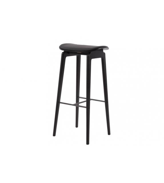 NY11 Bar Chair Norr11 Taburete Bar con Asiento Revestido