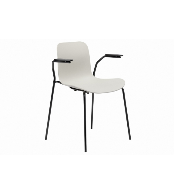 Langue Stack Norr11 Chair with Armrests