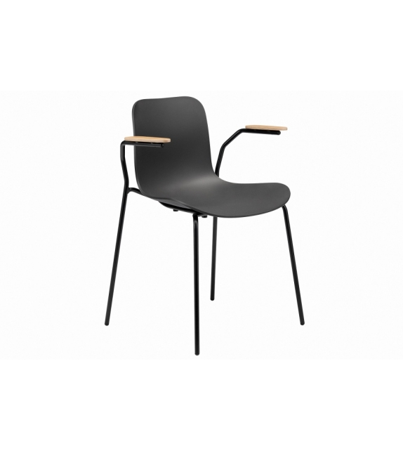 Langue Stack Norr11 Chaise avec Accoudoirs