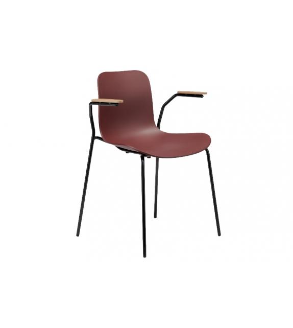 Langue Stack Norr11 Stuhl mit Armlehnen