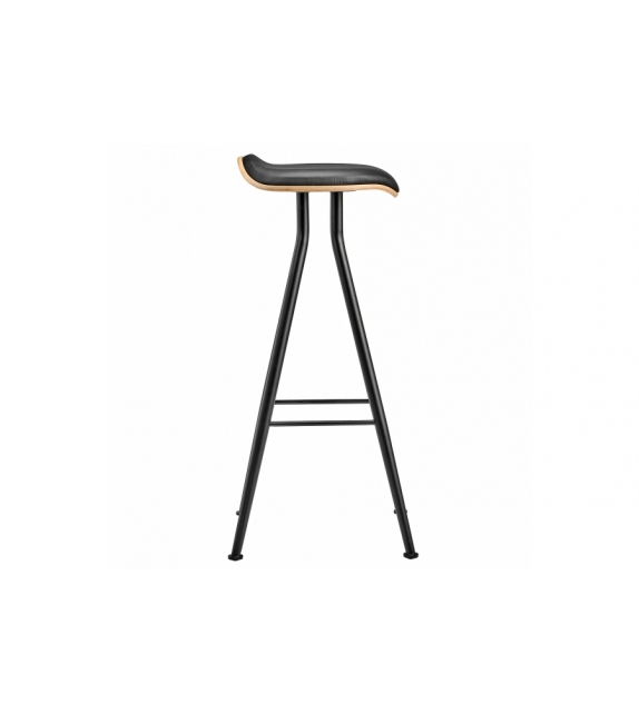 Barfly Bar Chair Leather Norr11 Sgabello