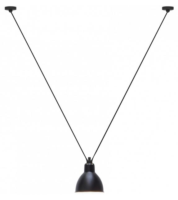 Listo para entregar - N°323 Round DCW Éditions-Lampe Gras Lámpara de Suspensión