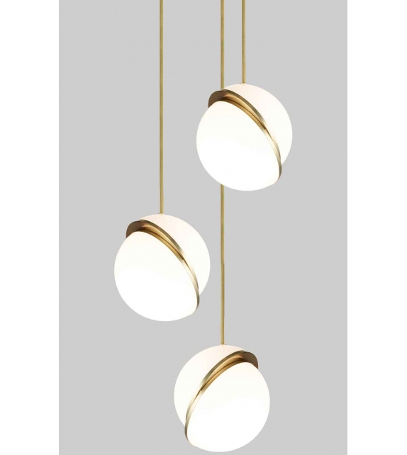 Ready for shipping - Mini Crescent Chandelier 3 Tier Lee Broom Pendant Lamp