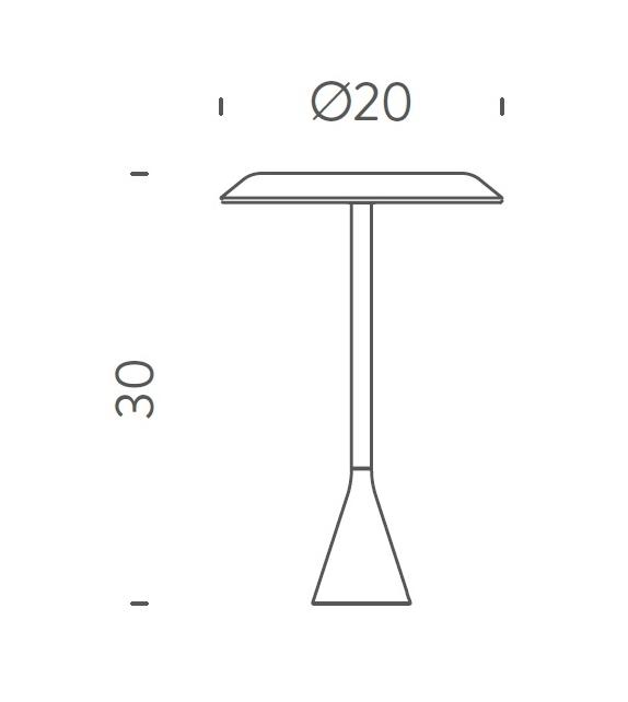 Ready for shipping - Panama Mini Battery Nemo Table Lamp