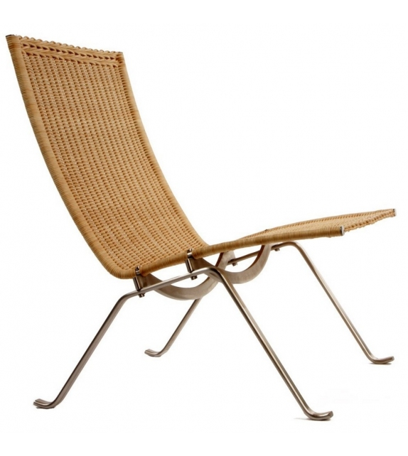 Ready for shipping - PK22 Wicker Fritz Hansen Lounge Chair