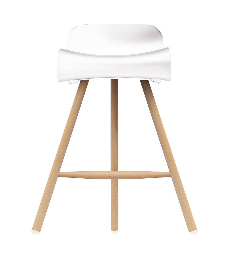 Ready for shipping - BCN Wooden Base Stool Kristalia