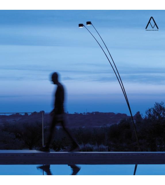 Ready for shipping – Sampei 440 Outdoor Floor Lamp Davide Groppi