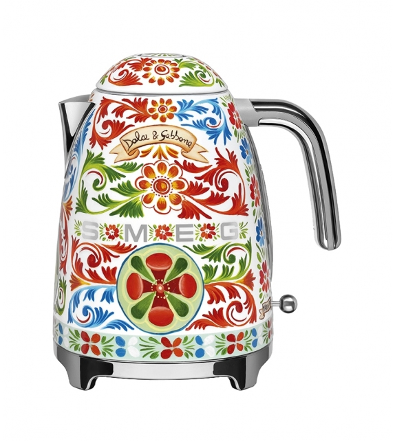 Ready for shipping - Sicily is my Love Smeg Kettle