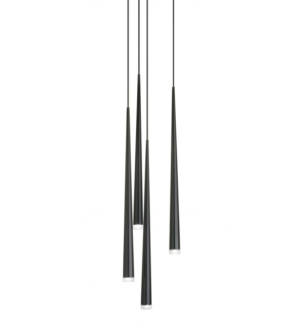 Slim 4 Led Hanging Lamp Vibia