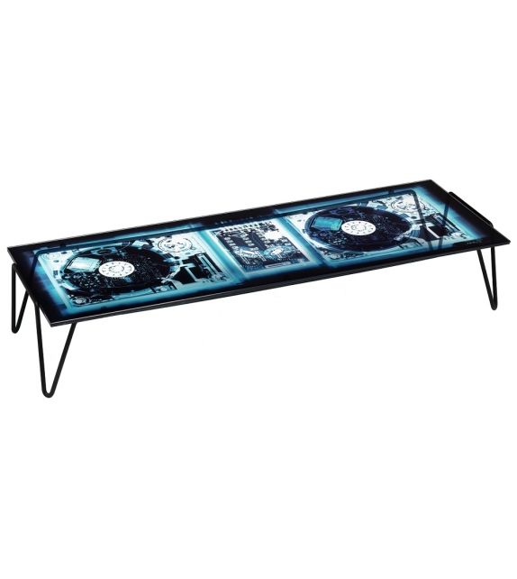 Ready for shipping - Xradio 2 Disc Coffee Table Diesel with Moroso