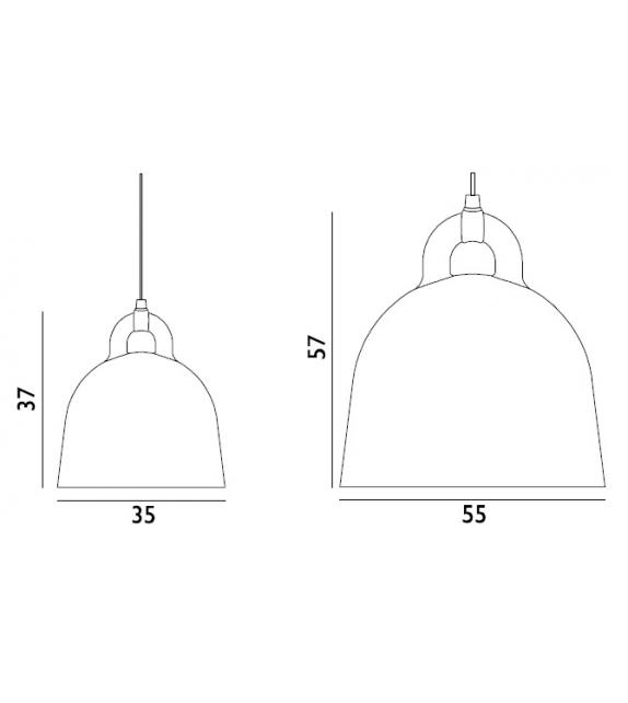 Ready for shipping - Bell Normann Copenhagen Pendant Lamp