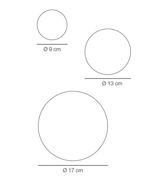 Listo para entregar - The Dots Singolo Percha Muuto