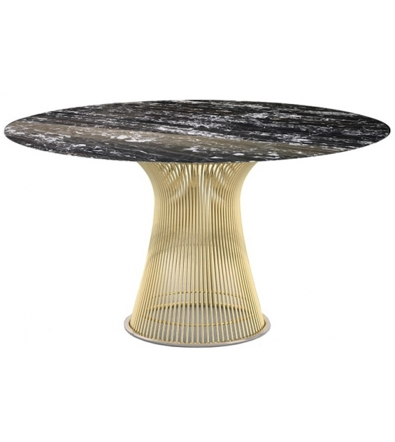 Platner Gold Knoll Dining Table
