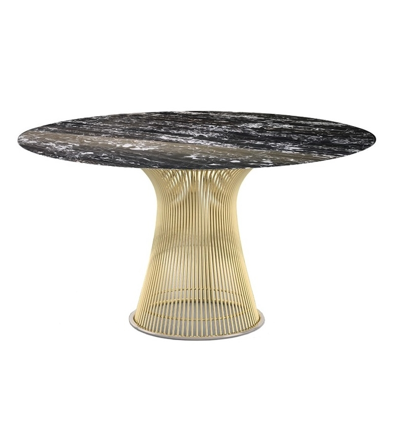 Platner Gold Knoll Table